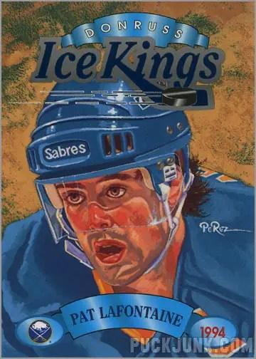 1993-94 Donruss Ice Kings Pat Lafontaine