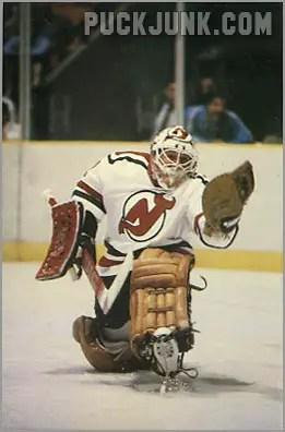 1985-86 New Jersey Devils #5 - Chico Resch