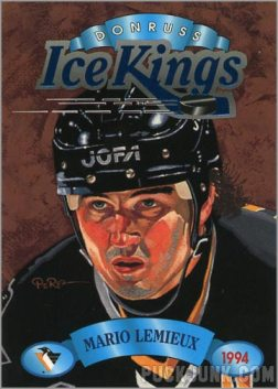 1993-94 Donruss Ice Kings Mario Lemieux