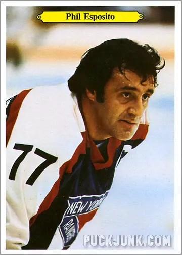 1980-81 OPC Super Photos #14 - Phil Esposito