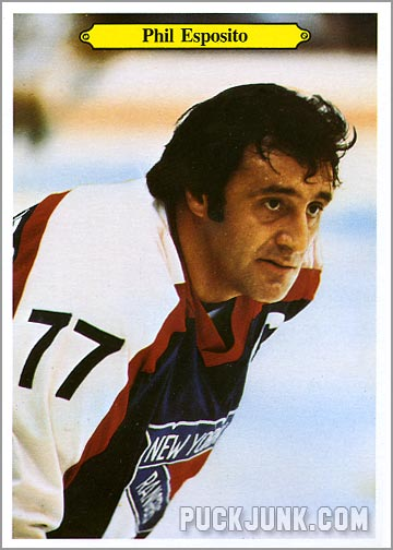 1980-81 OPC Super Photos #14 - Phil Esposito