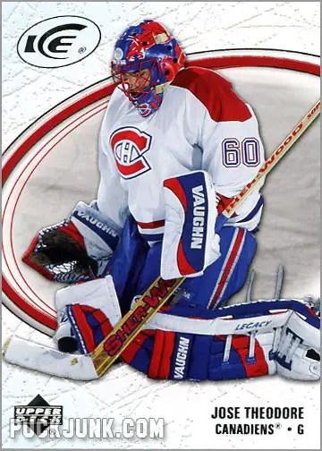 2005-06 Upper Deck Ice #49 - Jose Theodore