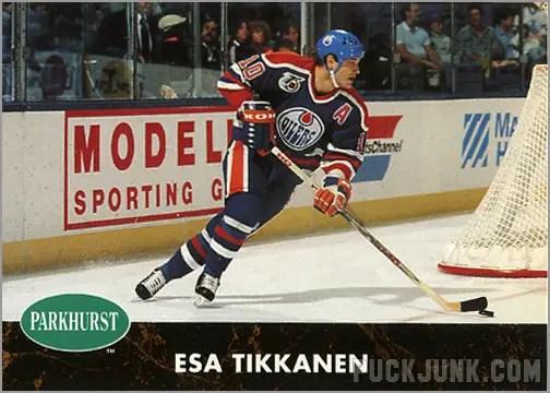1991-92 Parkhurst #55 - Esa Tikkanen