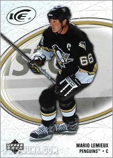 2005-06 Upper Deck Ice #76 - Mario Lemieux