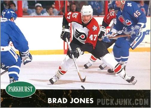 1991-92 Parkhurst #127 - Brad Jones