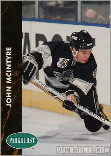 1991-92 Parkhurst #296 - John McIntyre