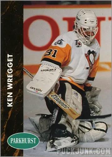 1991-92 Parkhurst #357 - Ken Wreggett