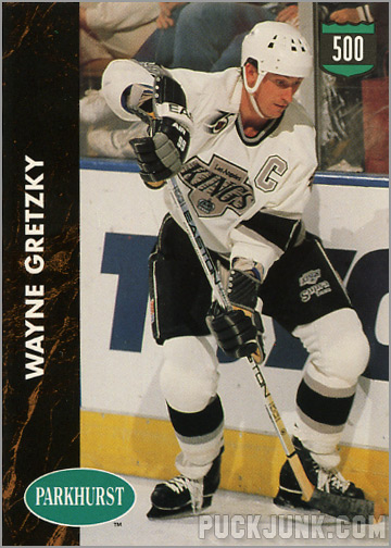 1991-92 Parkhurst #429 - Wayne Gretzky / 500 Goal Club