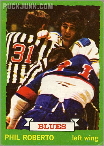 Phil Roberto 1973-74 Topps Hockey Card