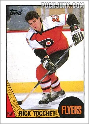 1987-88 OPC #2 - Rick Tocchet