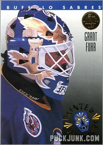 1992-93 Leaf Painted Warriors Grant Fuhr
