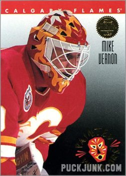 1992-93 Leaf Painted Warriors Mike Vernon