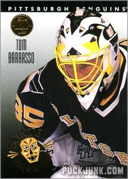 1992-93 Leaf Painted Warriors Tom Barrasso