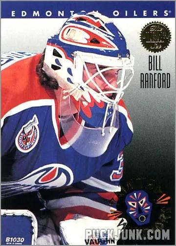 1992-93 Leaf Painted Warriors Bill Ranford