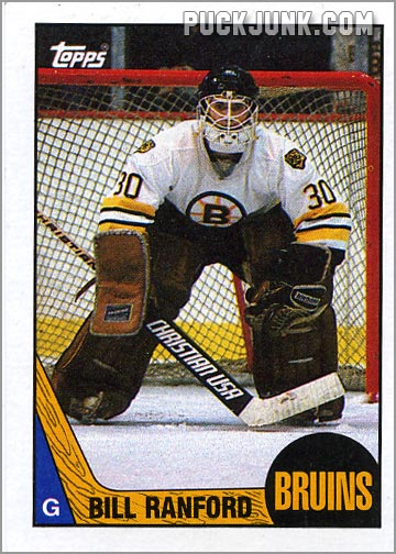 1987-88 OPC #13 - Bill Ranford
