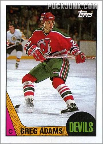 1987-88 OPC #135 - Greg Adams