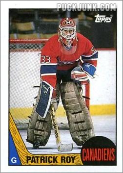 1987-88 OPC #63 - Patrick Roy