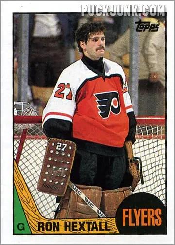 1987-88 OPC #169 - Ron Hextall