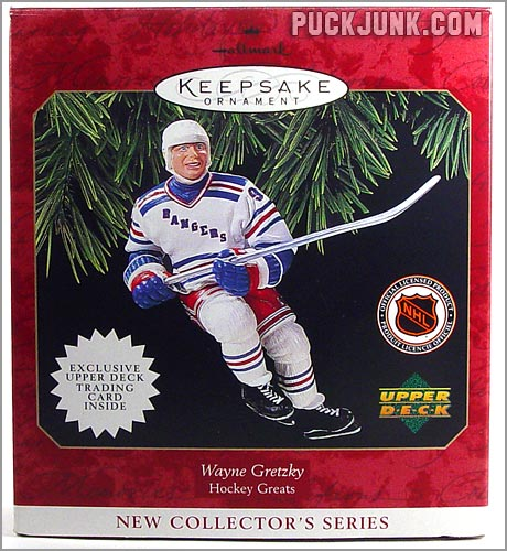 Wayne Gretzky Ornament - box front