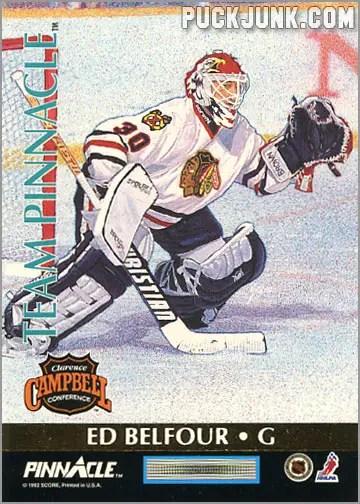 1992-93 Team Pinnacle Ed Belfour