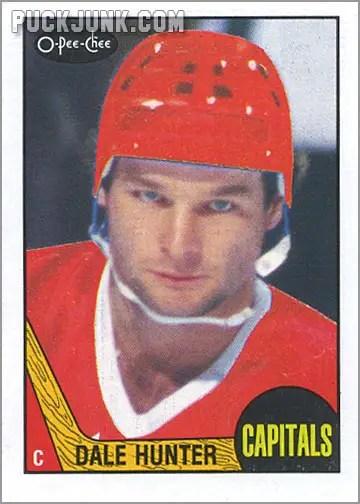 1987-88 OPC #245 - Dale Hunter