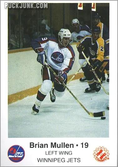 1985-86 Winnipeg Jets - Brian Mullen