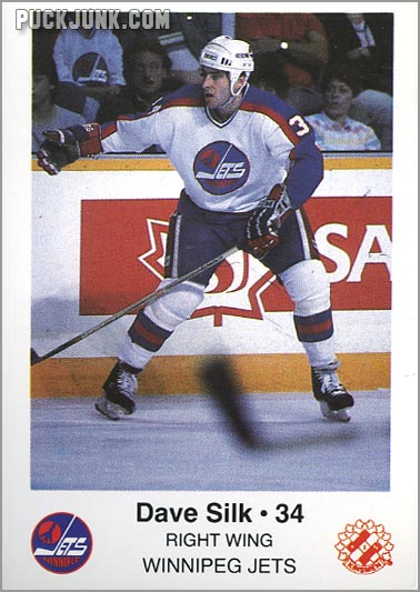 1985-86 Winnipeg Jets - Dave Silk