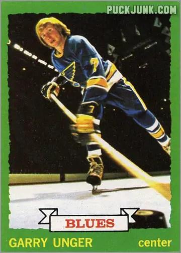 Gary Unger 1973-74 Topps Hockey card