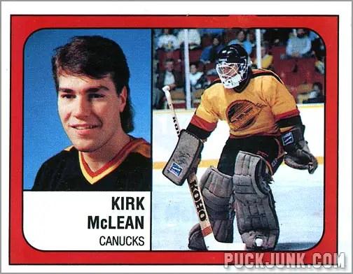 1988-89 Panini Stickers #132 - Kirk McLean