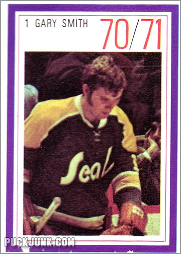 "1970-71 Esso Gary ""Suitcase"" Smith"