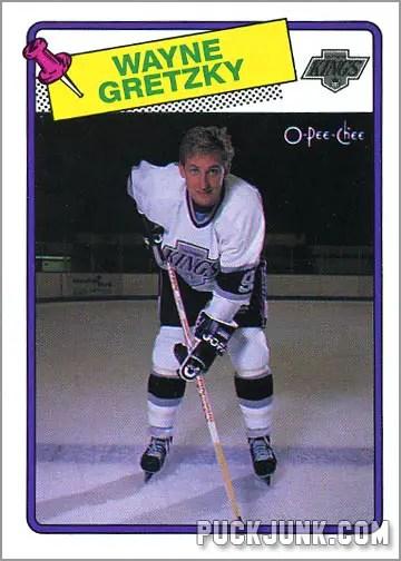 Wayne Gretzky 1988-89 OPC Hockey Card