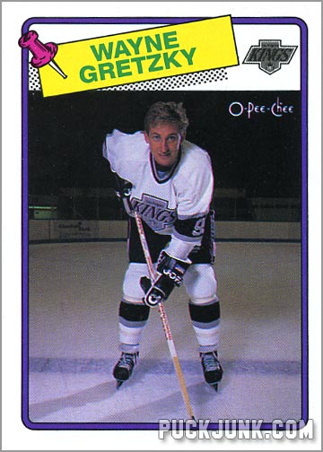 Wayne Gretzky 1988-89 OPC Hockey Card
