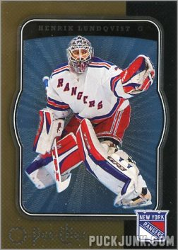 2007-08 O-Pee-Chee Micromotion Parallel #335 - Henrik Lundqvist