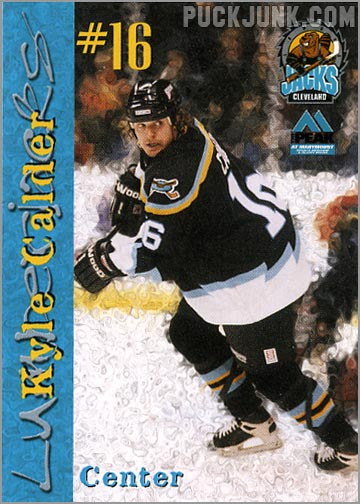 1999-00 Cleveland Lumberjacks - Kyle Calder