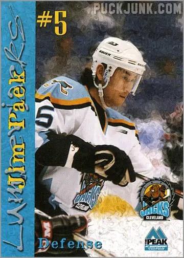 1999-00 Cleveland Lumberjacks - Jim Paek