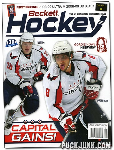Beckett Hockey #209