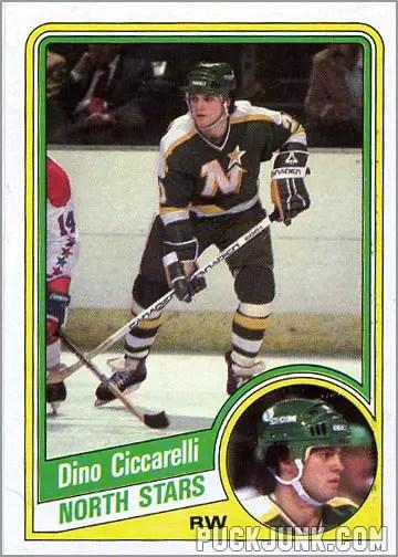 1984-85 Topps card #73 - Dino Ciccarelli