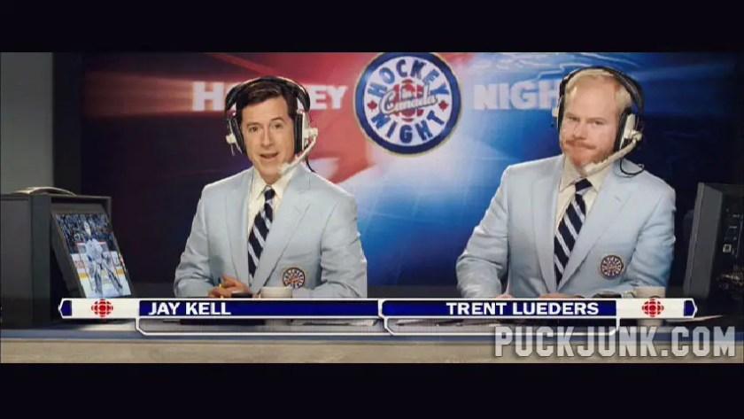 The Love Guru / Hockey Night in Canada announcers