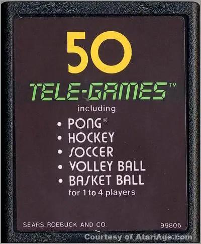 Video Olympics game cartridge version 4