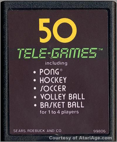 Video Olympics game cartridge version 4