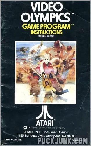 Video Olympics instruction book
