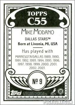 2003-04 Topps C55 #9 - Mike Modano (back)