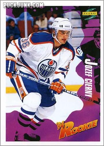 1994-95 Score card #217 - Josef Cierny
