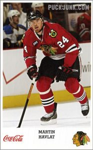 2007-08 Blackhawks Martin Havlat