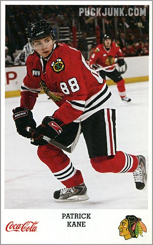 2007-08 Blackhawks Patrick Kane version 1