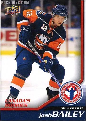 2009 National Hockey Card Day #3 - Josh Bailey