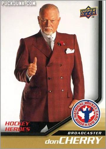 2009 National Hockey Card Day #15 - Don Cherry