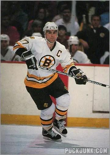 1990-91 Boston Bruins Ray Bourque