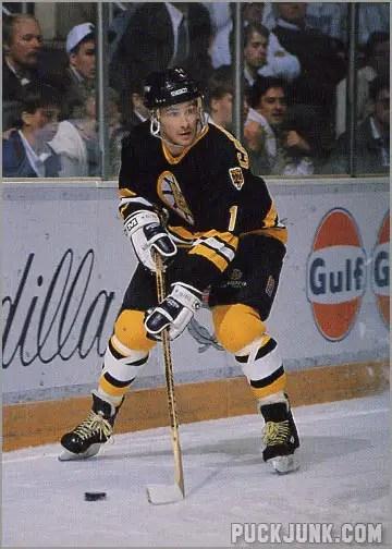 1990-91 Boston Bruins Bob Carpenter