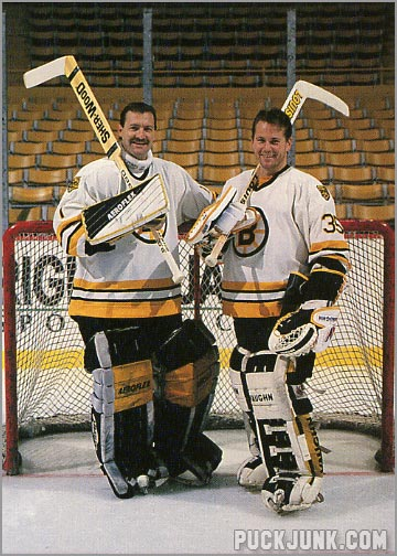 1990-91 Boston Bruins Jennings Tropy Winners